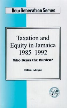 Taxation And Equity In Jamaica, 1985-1992
