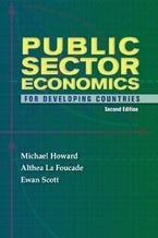 Public Sector Economics for Developing Countries Second Edition