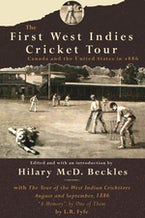 The First West Indies Cricket Tour